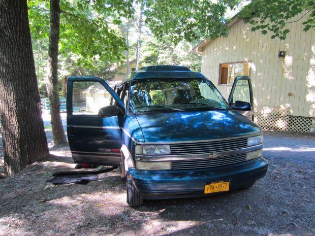 rusty the van - road trip