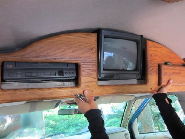 Rusty the Van - tv & vcr