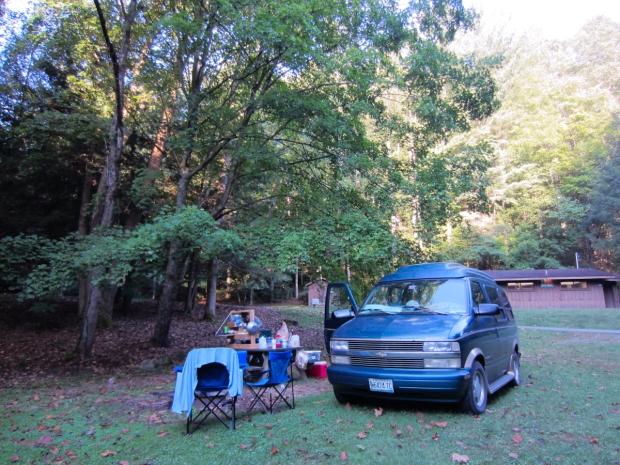 rusty the van - road trip - west virginia